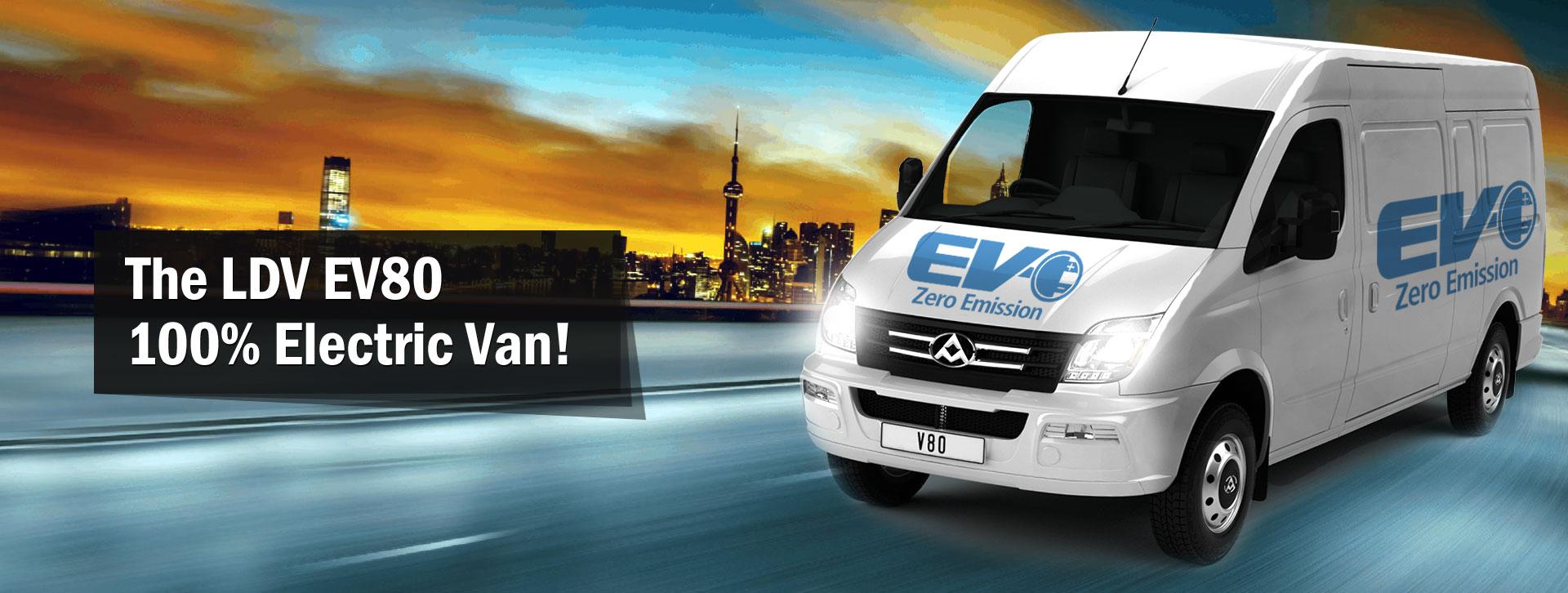 LDV V80 Electric Van