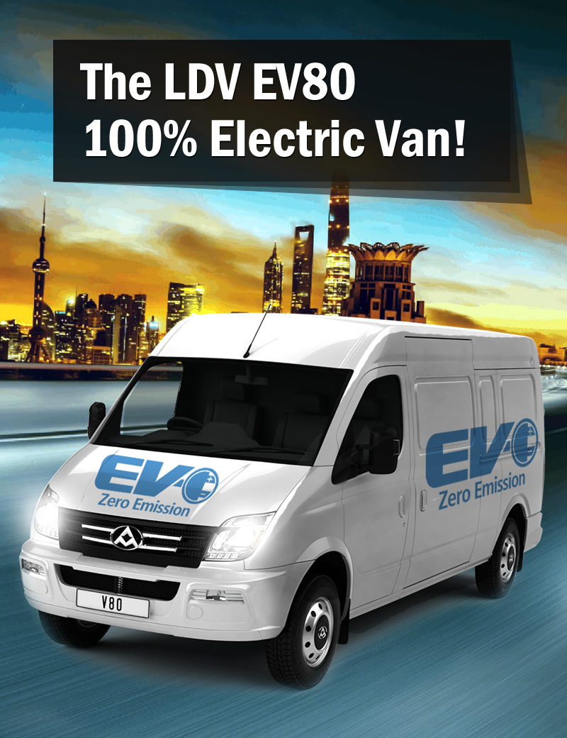 LDV EV80 Electric Van