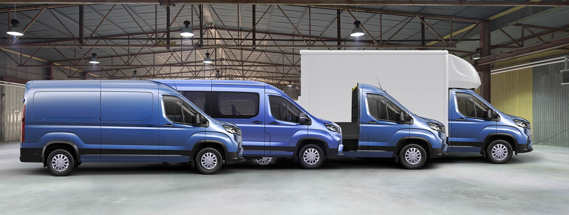 LDV Van Range from Heathrow LDV Ltd