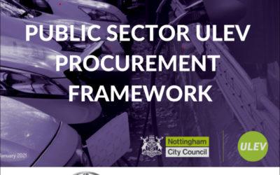 ULEV Procurement Framework on the Maxus